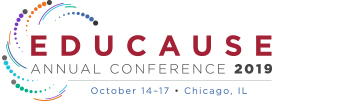 EDUCAUSE Annual Conference 2019 | October 14-17 | Chicago, IL