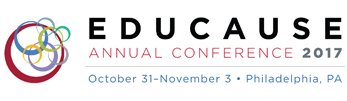 EDUCAUSE Annual Conference 2017 - Philadelphia, PA - October 31, 2017 through November 3, 2017